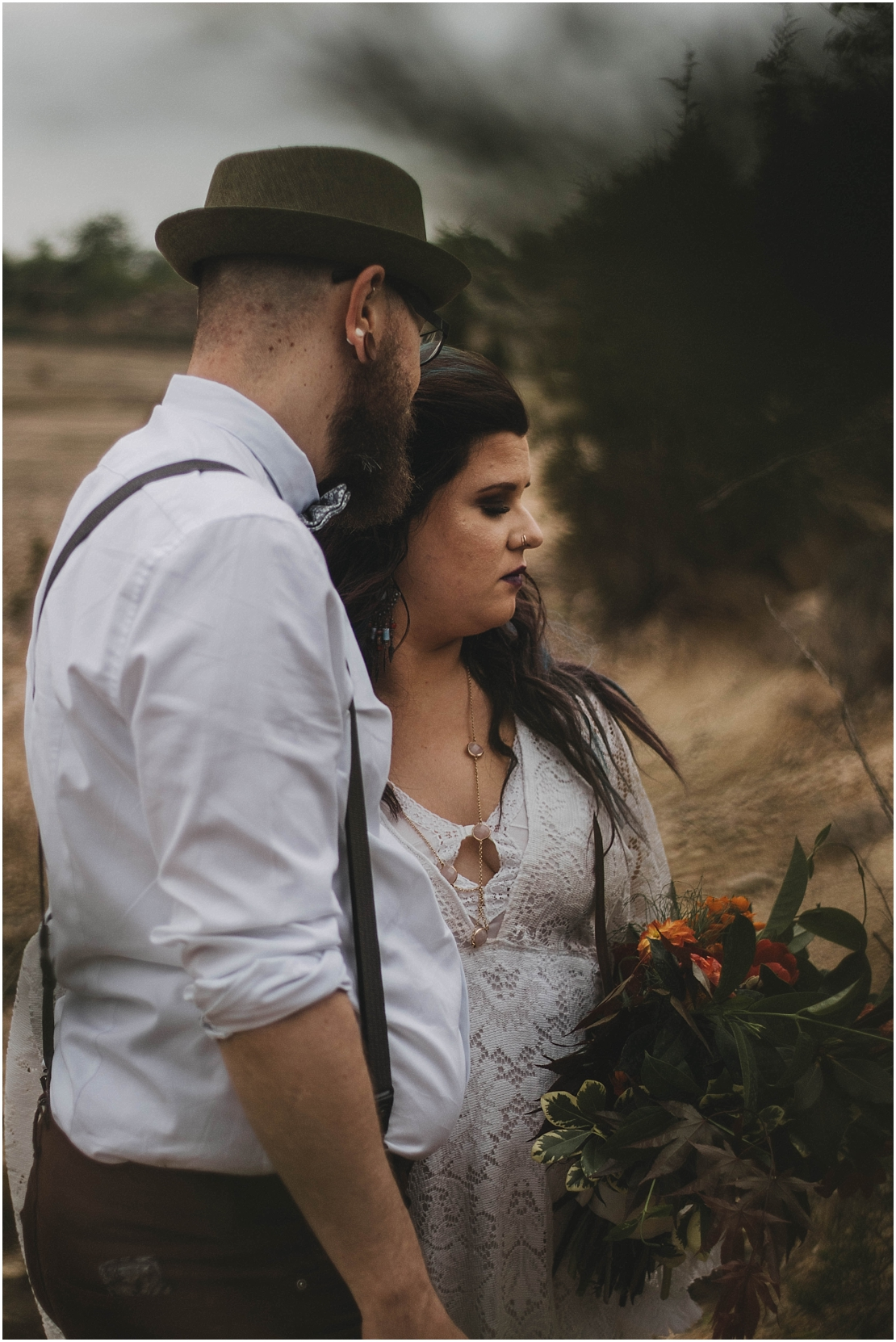 Desert Inspired Elopement | Oakes Quarry Park | Fairborn, Ohio