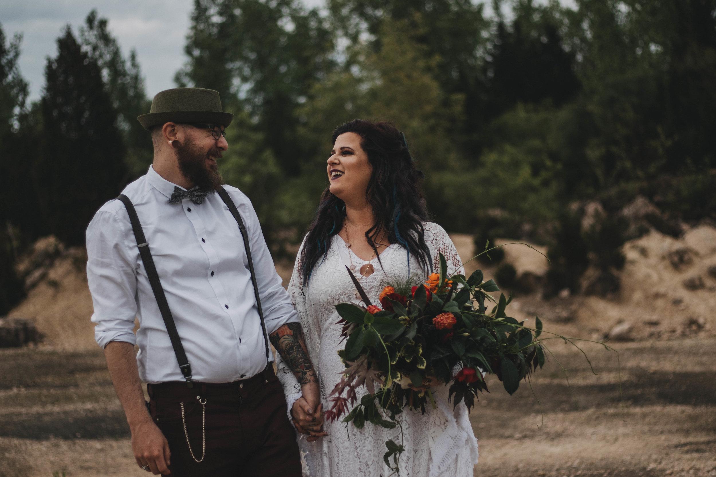 Desert Inspired Elopement | Dayton Wedding Photographer