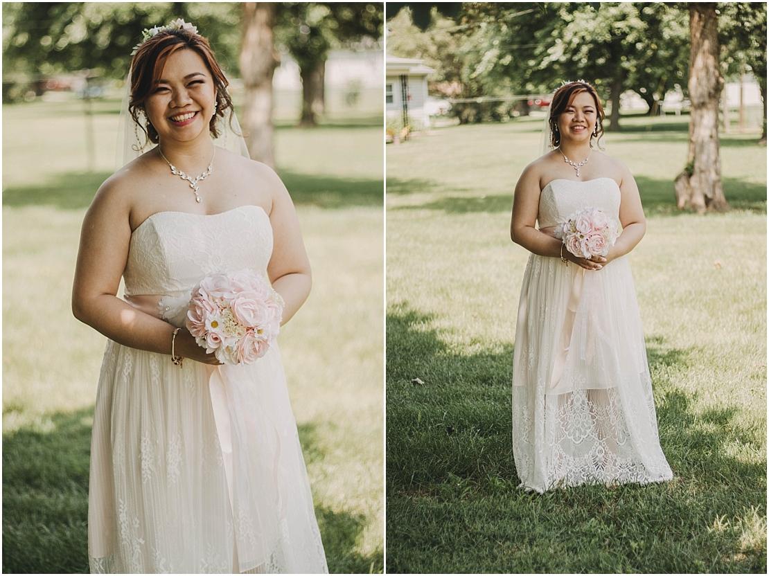 Intimate DIY Backyard Wedding   Dayton, Ohio