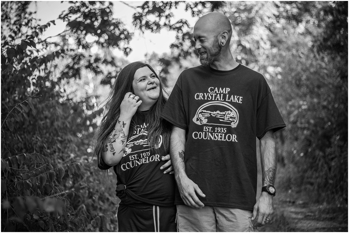 Friday the 13th Engagement Session | Eastwood MetroPark