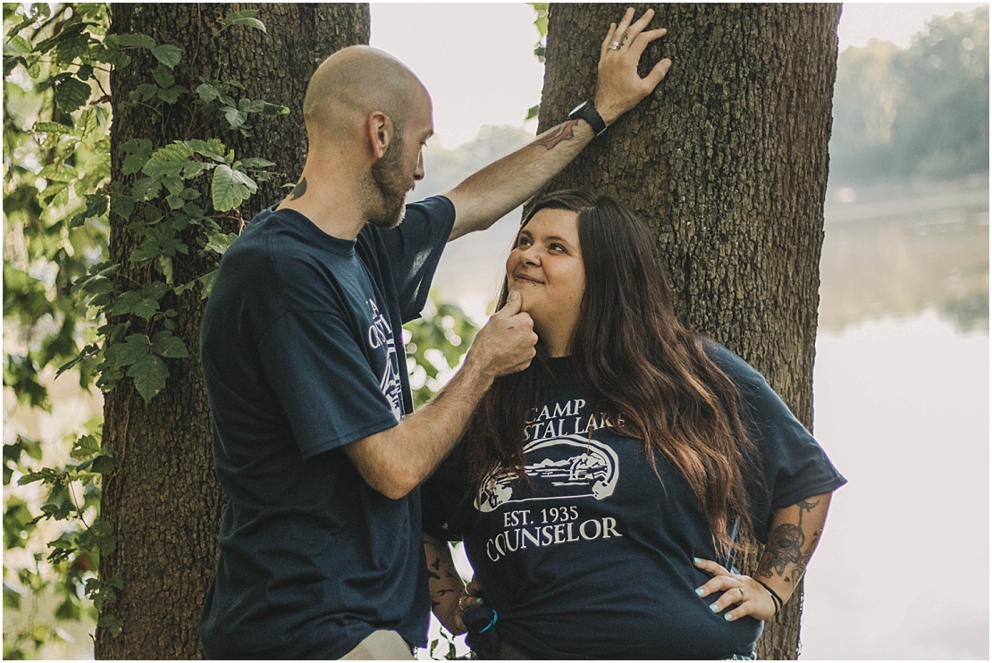 Friday the 13th Engagement Session | Huffman MetroPark
