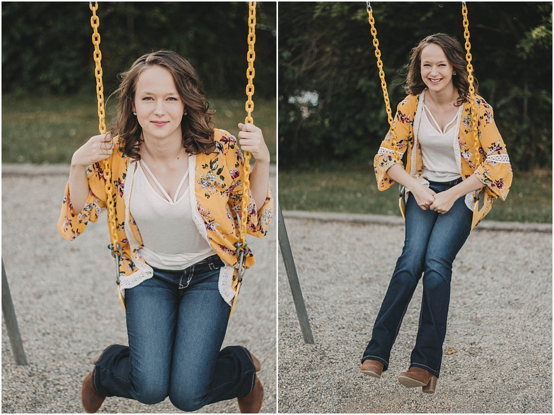 Michelle Senior Portraits | Legacy Christian Academy | Xenia, Ohio