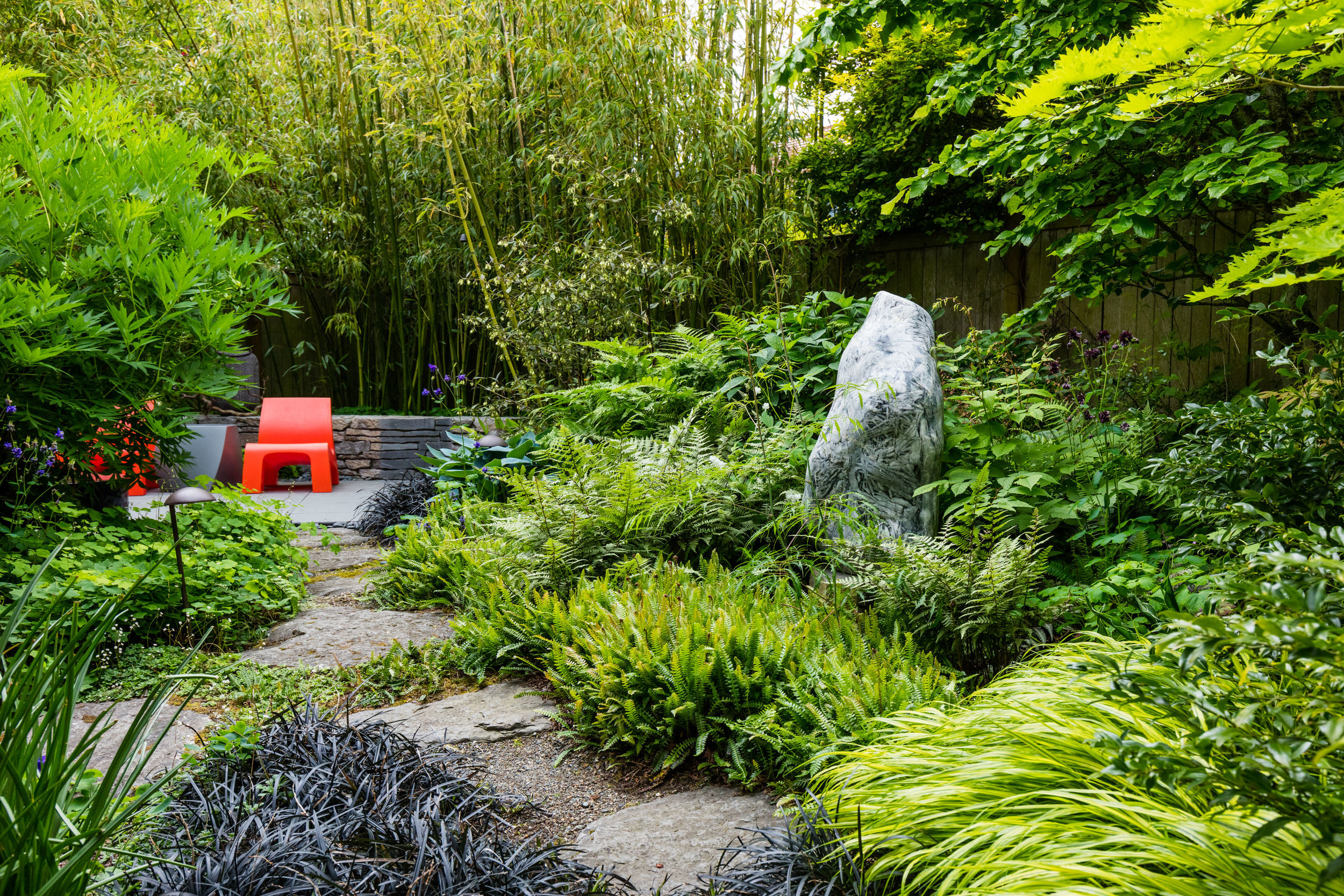 Modern Pop Garden | West Seattle