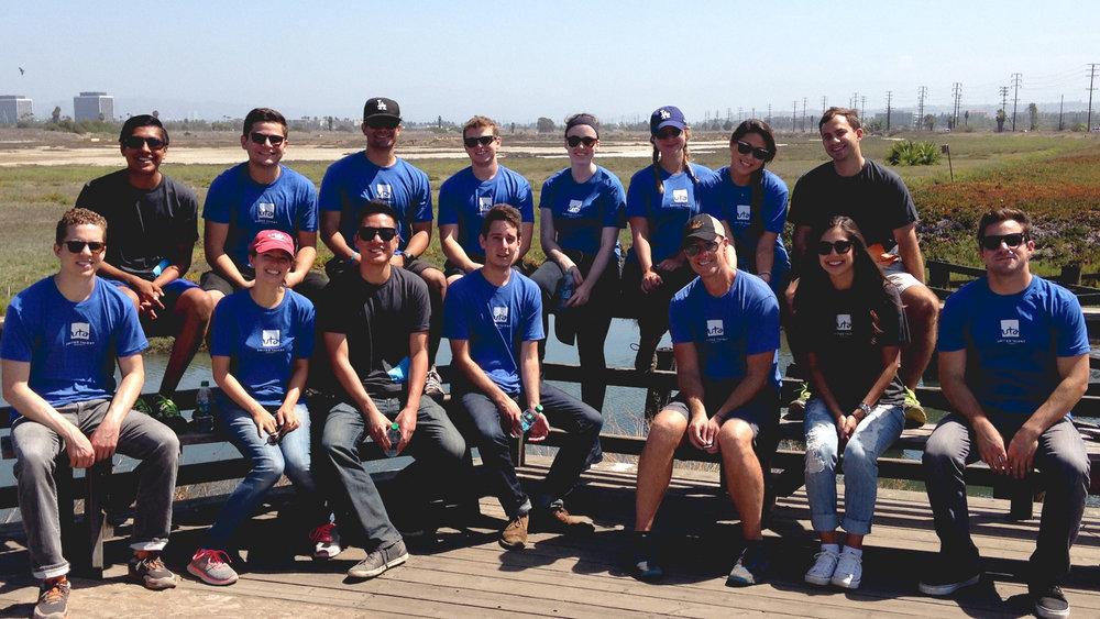 Tour Group Photo at Saltwater Marsh