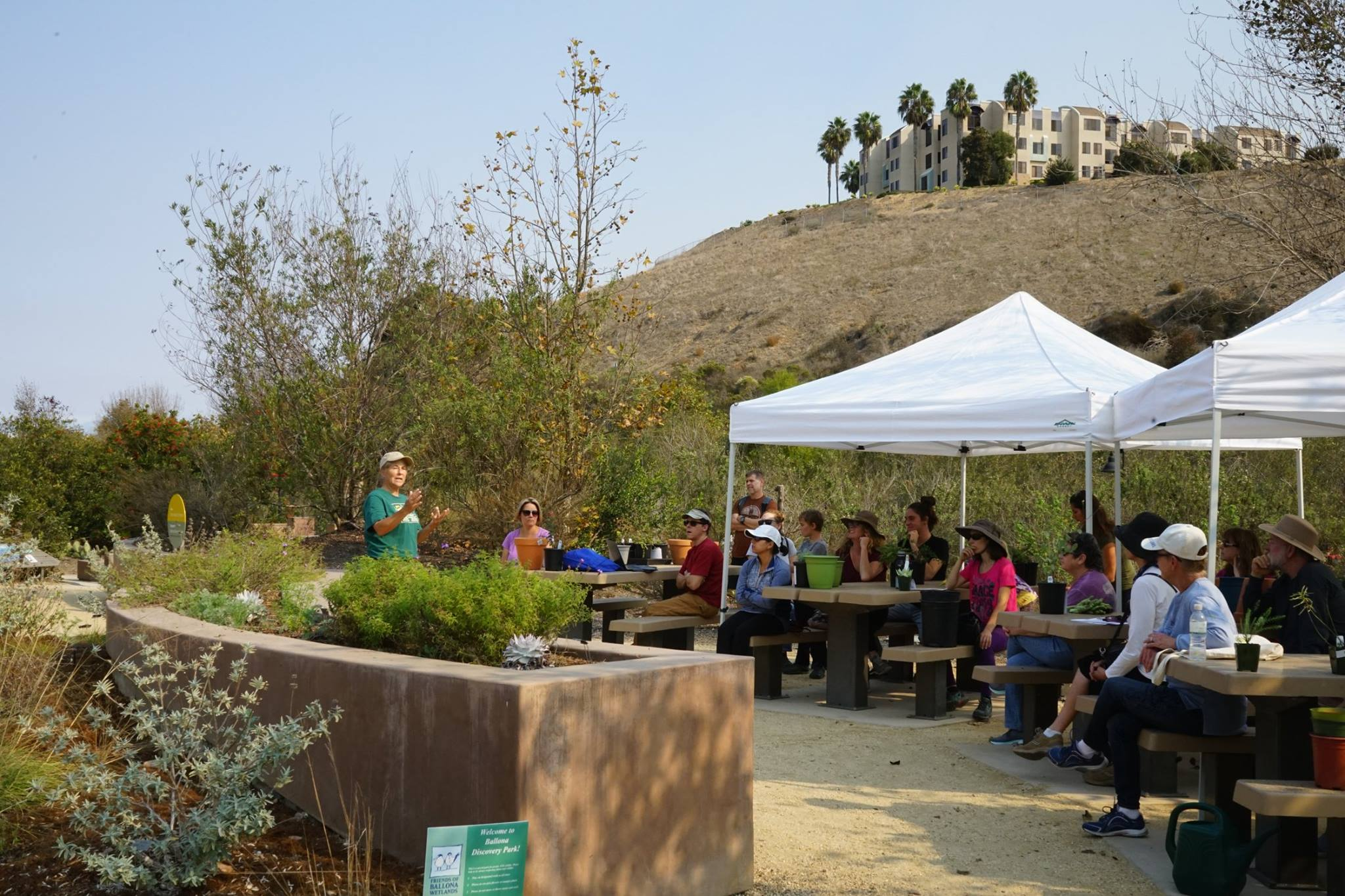 Grow Native Event at Ballona Discovery Park