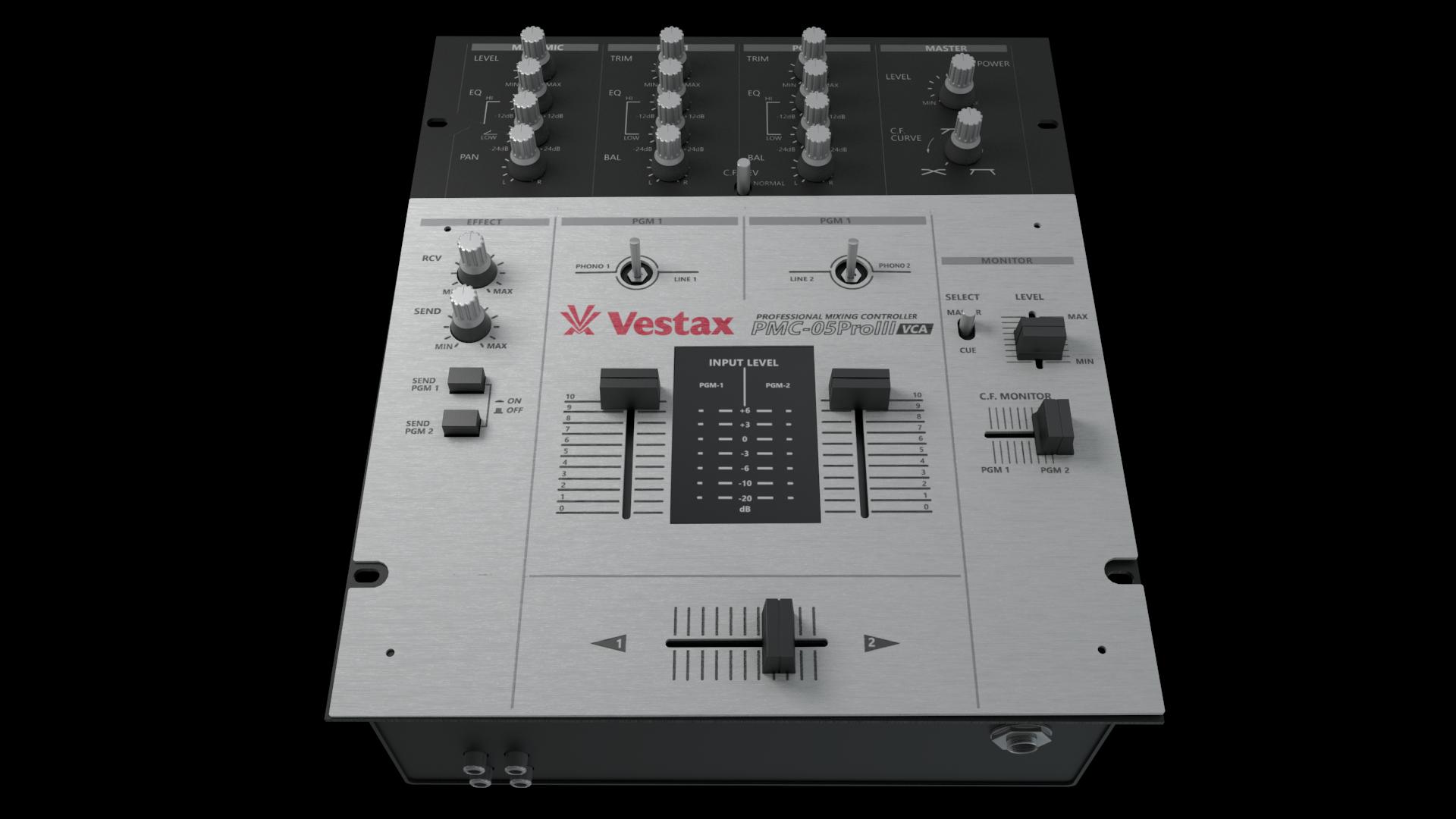 Vestax PMC-05 Scratch Mixer