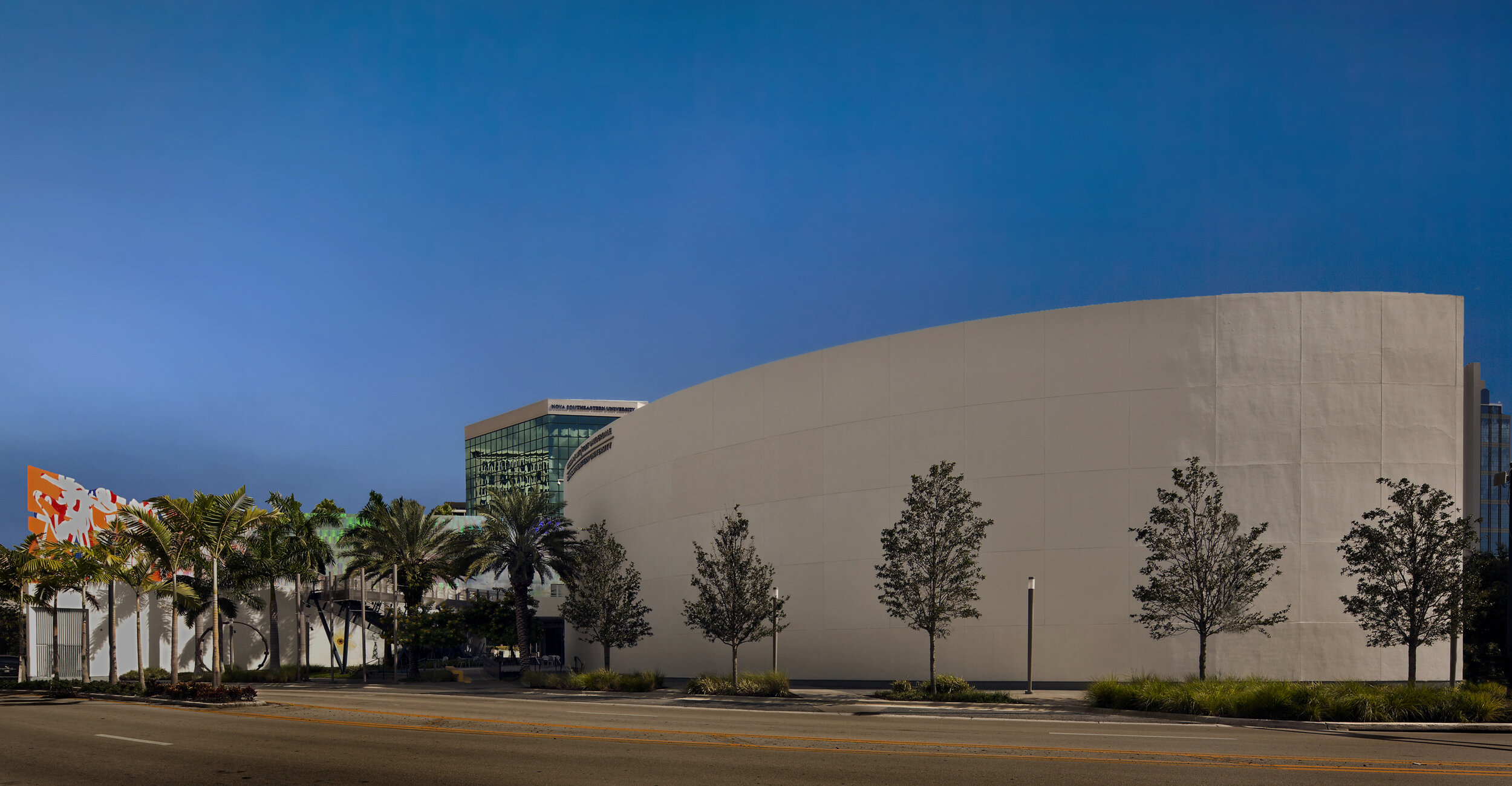NSU Art Museum Fort Lauderdale - Graphic Design and execution for the NSU Art Museum successful rebrand