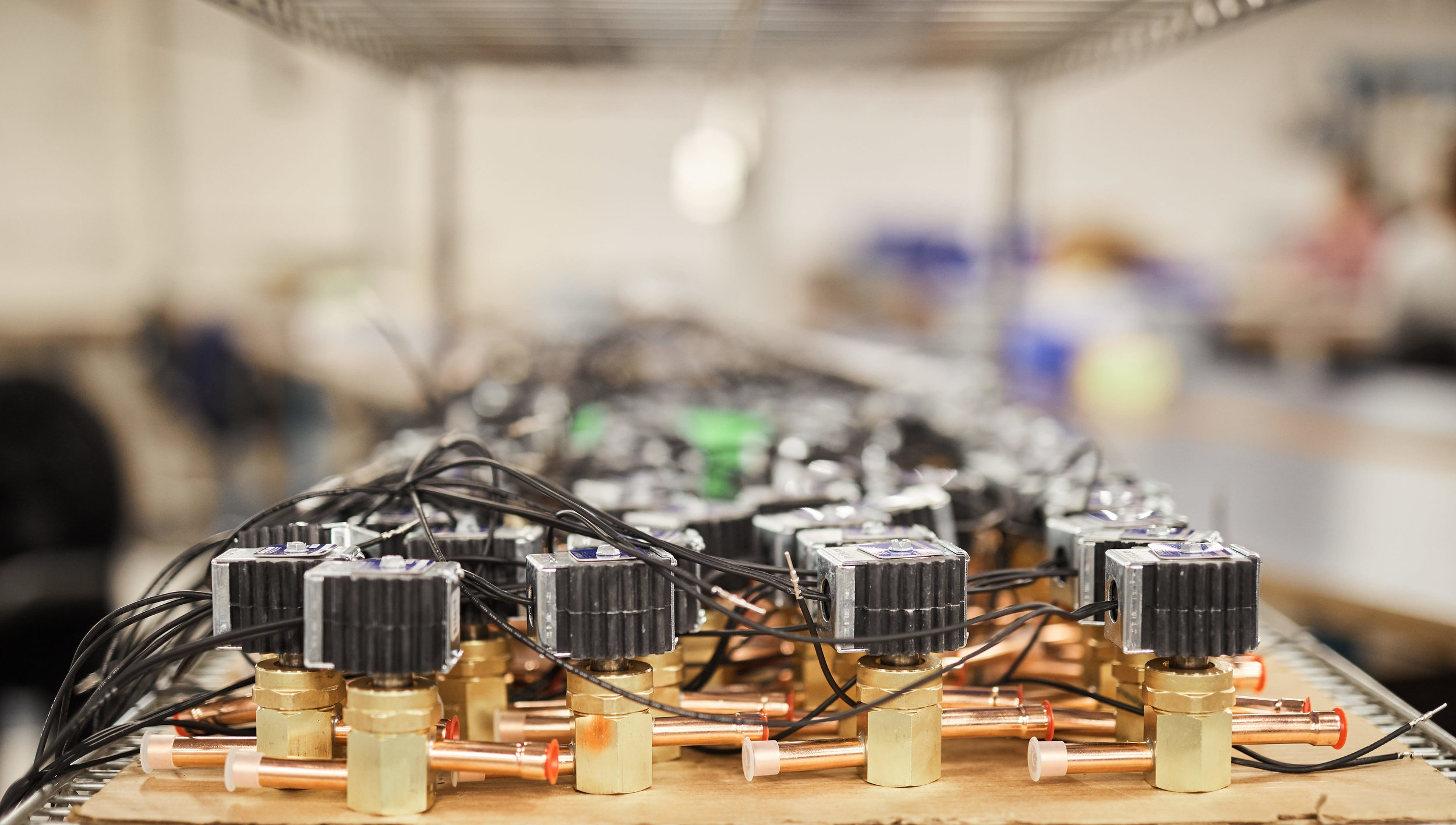 Value Add - We do a large array of value add processes, whether it's adding connectors to components such as valves, blower fans, thermisters, to rewiring motors or switches.