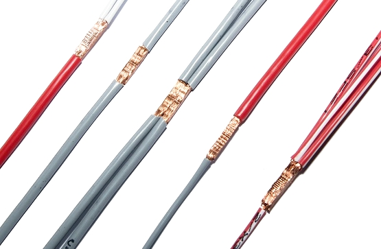 Multiple splicing configurations - Our equipment is capable of welding solid or stranded,tinned or bare copper wire, as well as component leads in a large variety of configurations.