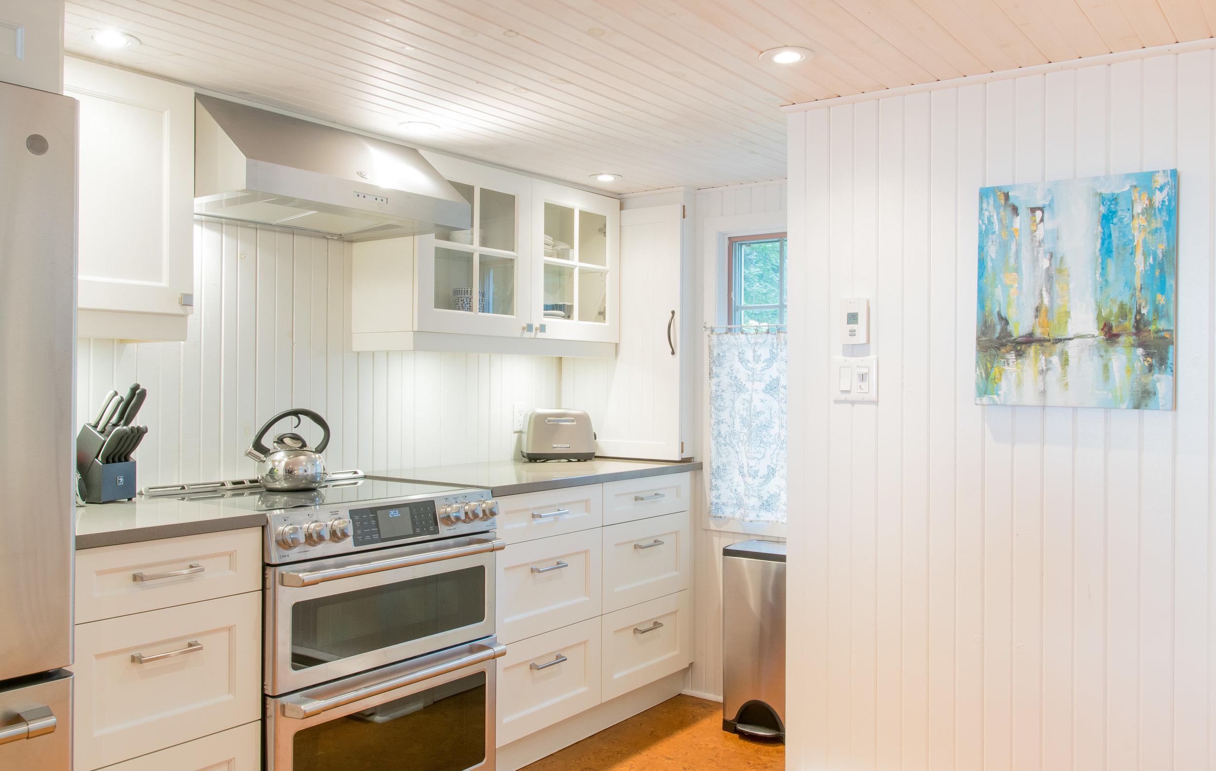 A White Country Kitchen
