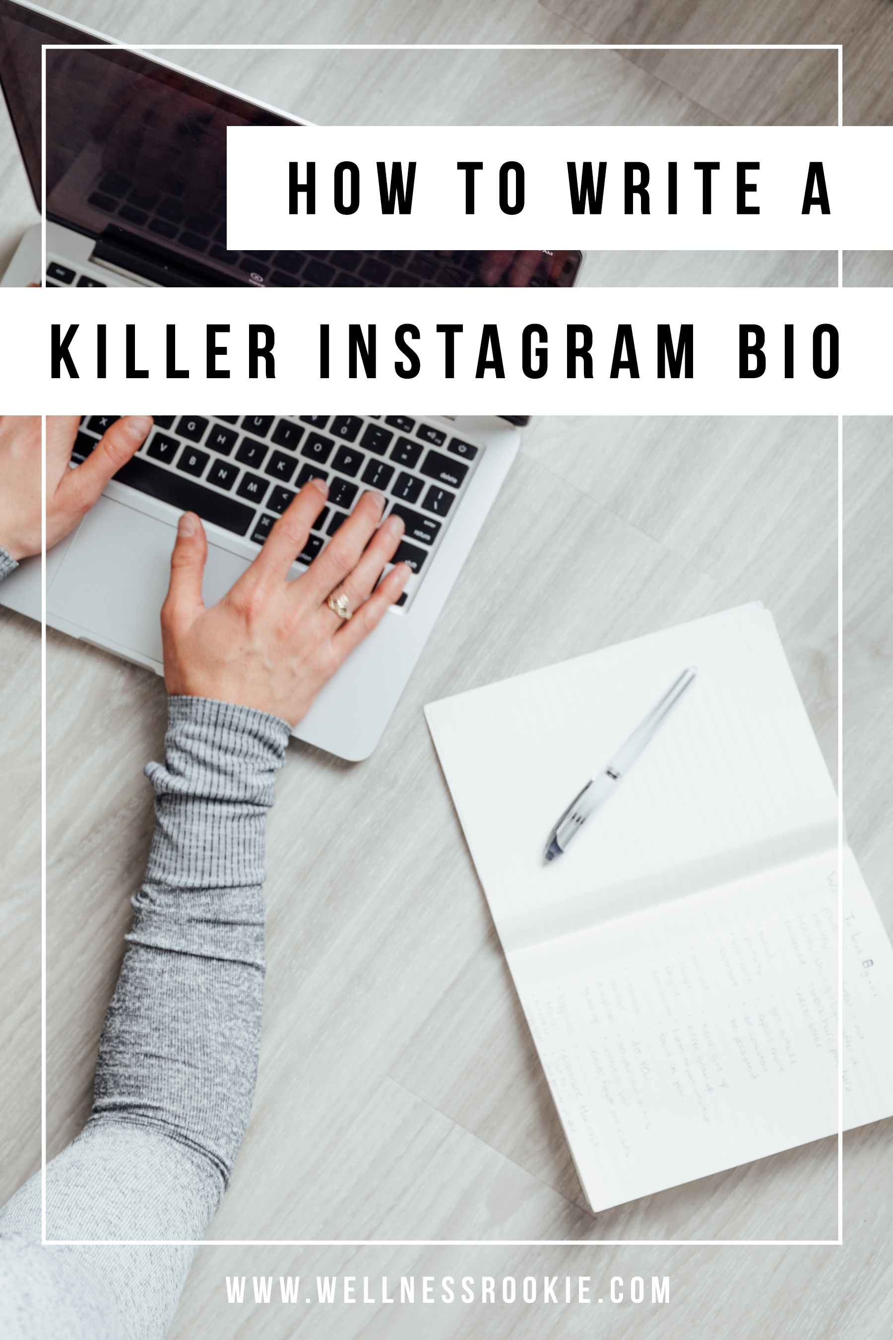 how to write a good Instagram bio to turn visitors into followers