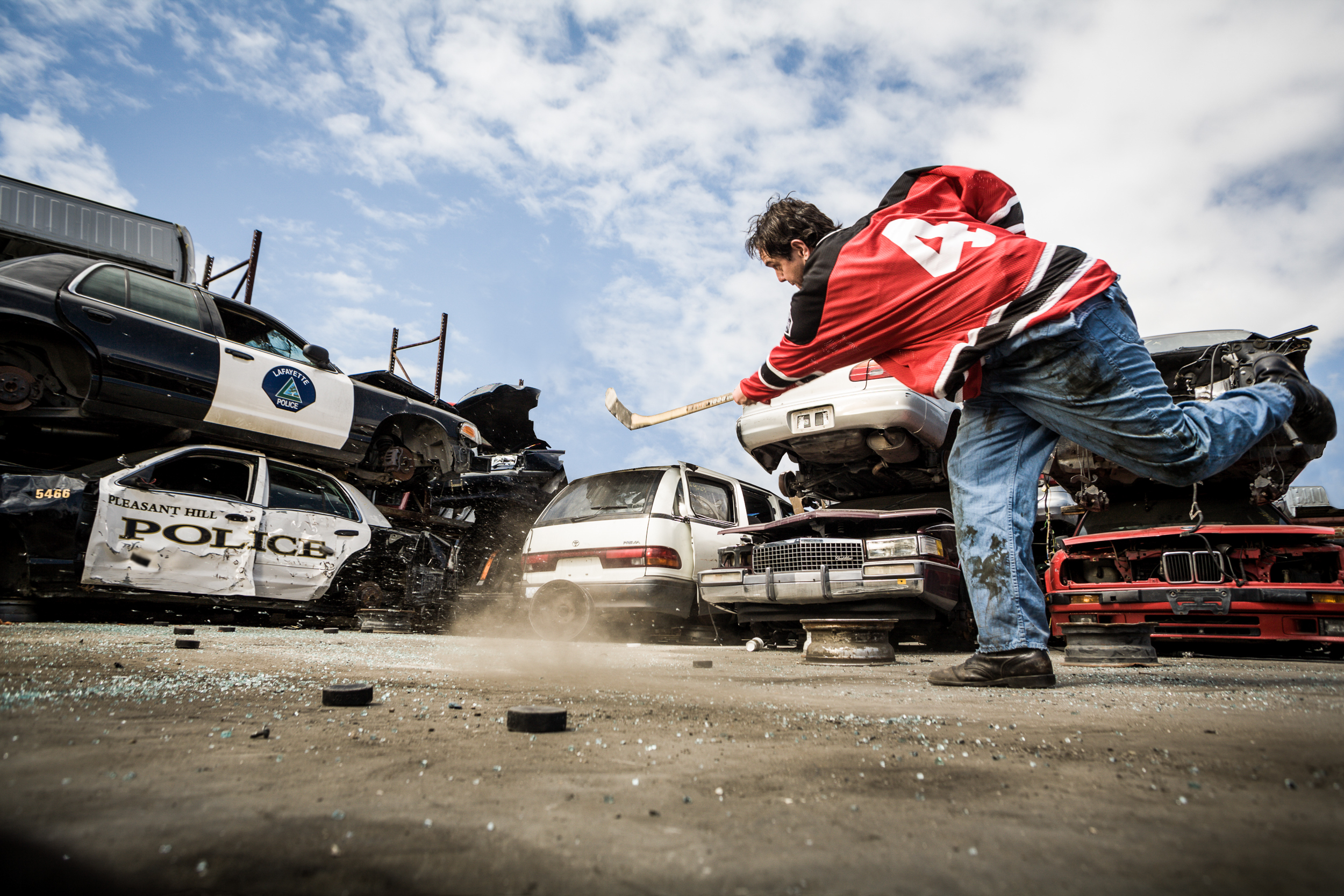 Hockey playerin junk yard_ 11.jpg