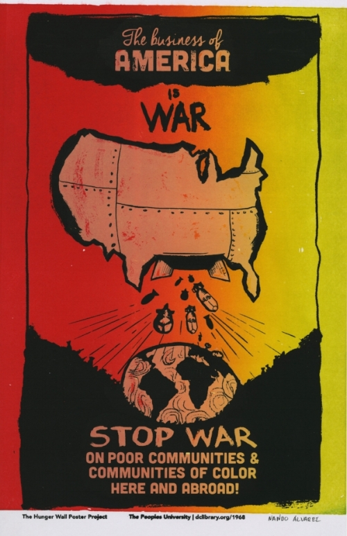 Nando Alvarez - The Business of America is War