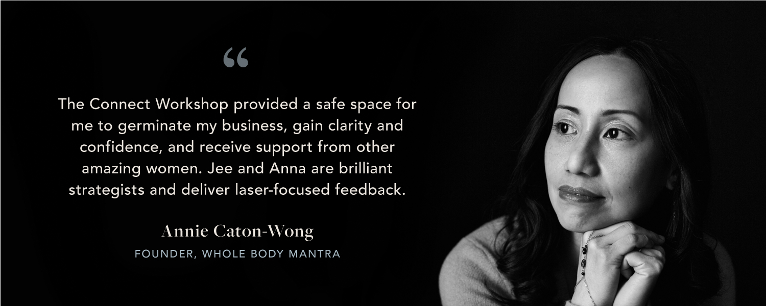 UME Connect Workshop Testimonial - Annie Caton-Wong