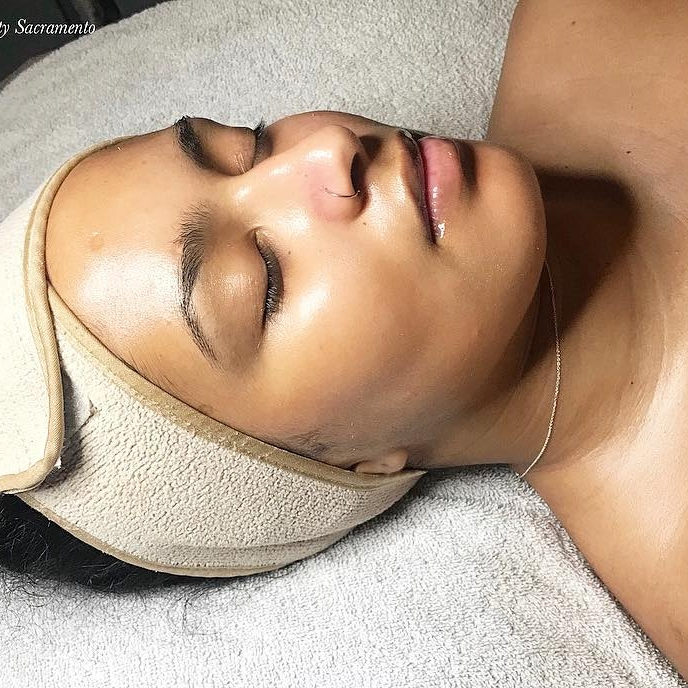 enzyme exfoliation - Enzymes work to specifically break down the keratin protein on the skin and have anti-inflammatory properties to balance your skins pH and bring it back to life. Enzyme treatments are for all skin types, especially our on the go clients who are looking for a quick fix for surface skin concerns.