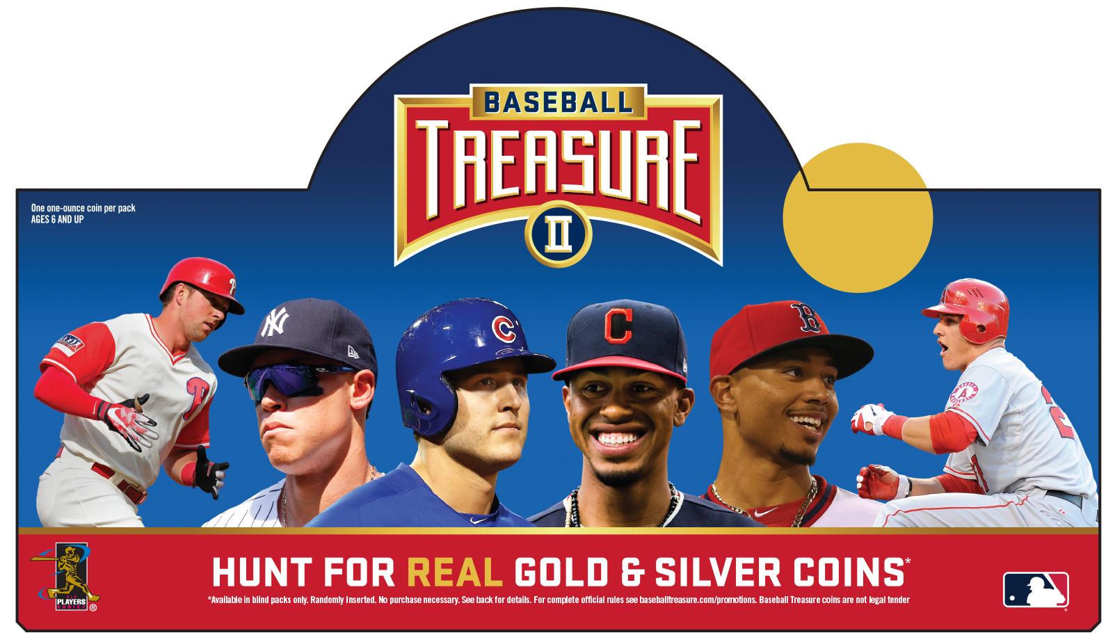 Baseball Treasure Coins