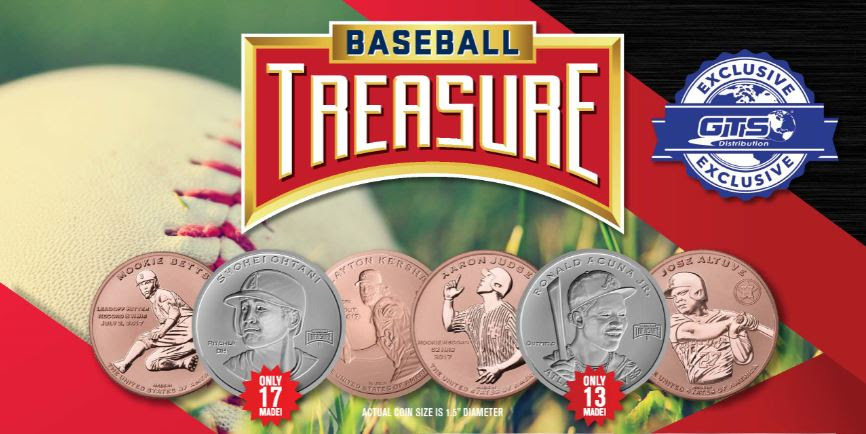 Baseball Treasure Coins Hobby Edition