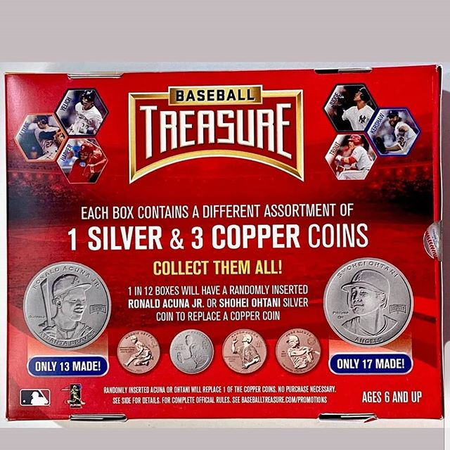In hobby shops now. This @gts_sports_entertainment hobby exclusive will be featured at @nsccshow this week.  Stay tuned for promos. #collect #thehobby #baseballcards #jointhehunt #baseballtreasure #coins #thenational