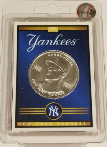 Aaron Judge Yankees™ Silver Coin