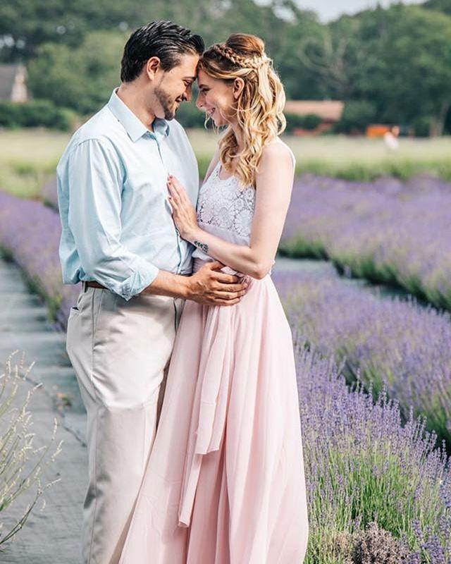 Dreaming of springtime weddings 💜