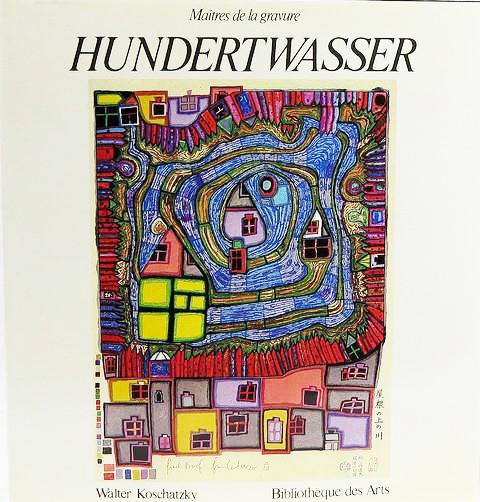 FRIEDENSREICH HUNDERTWASSER: Catalogue raisonne de l'oeuvre grave 1951