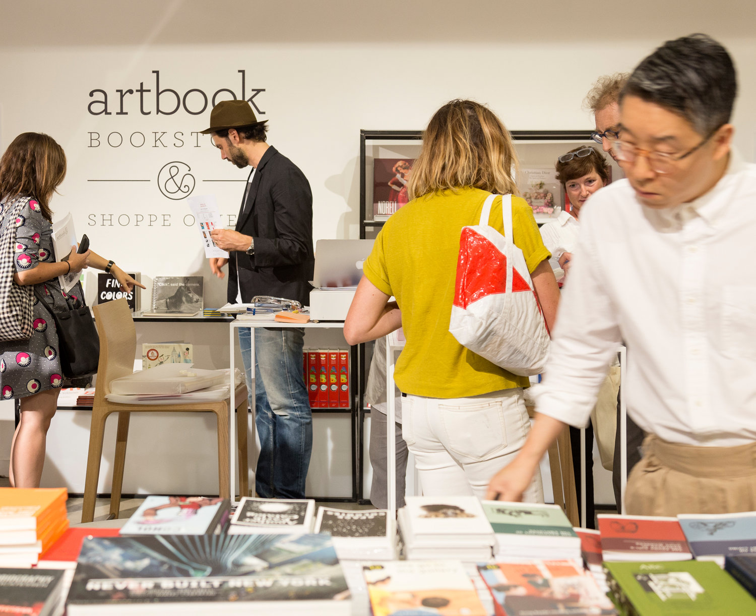 The Artbook Bookstore at Shoppe Object
