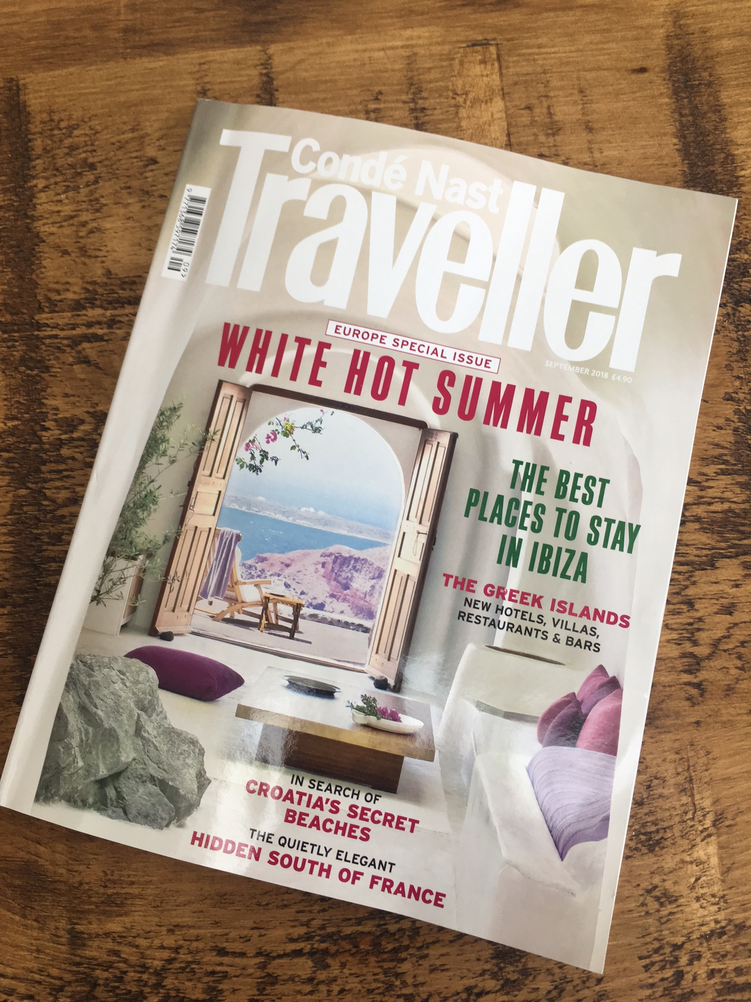 Villa Angelo is the place to stay in Istria, according toCondé Nast Traveller, September 2018. -