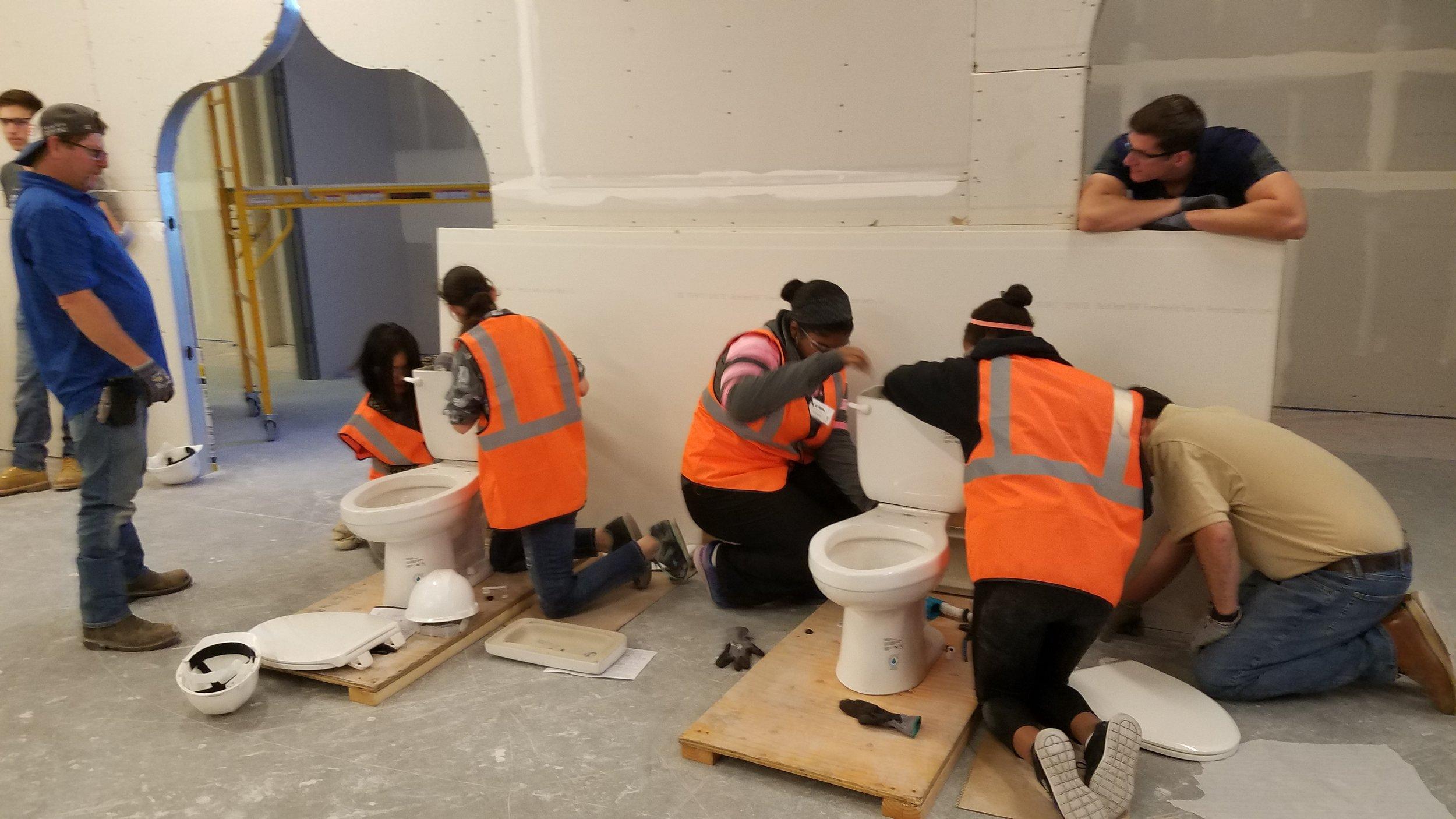 Apprentice Toilet Take Apart Challenge.JPG