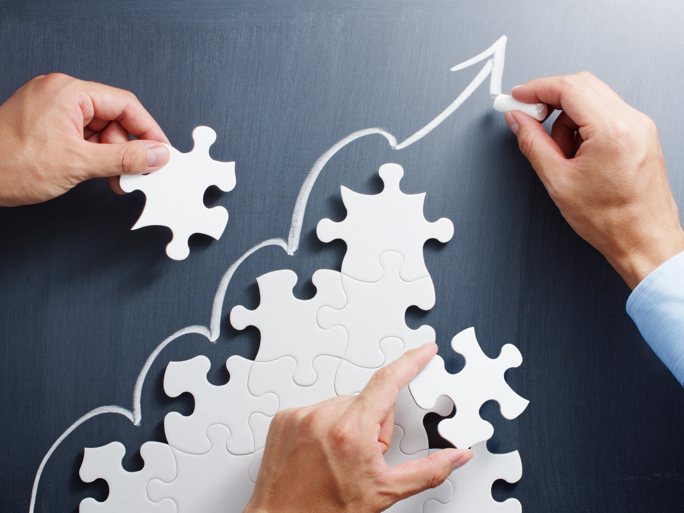 GROWTH STRATEGIES - Know where you want to grow, and build the right teams to get there.