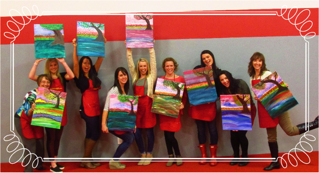 Champion Cheer Coaches, Salem- Holiday PaintnParty