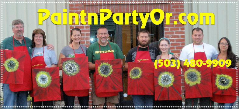 My First Painting Party June 2014!