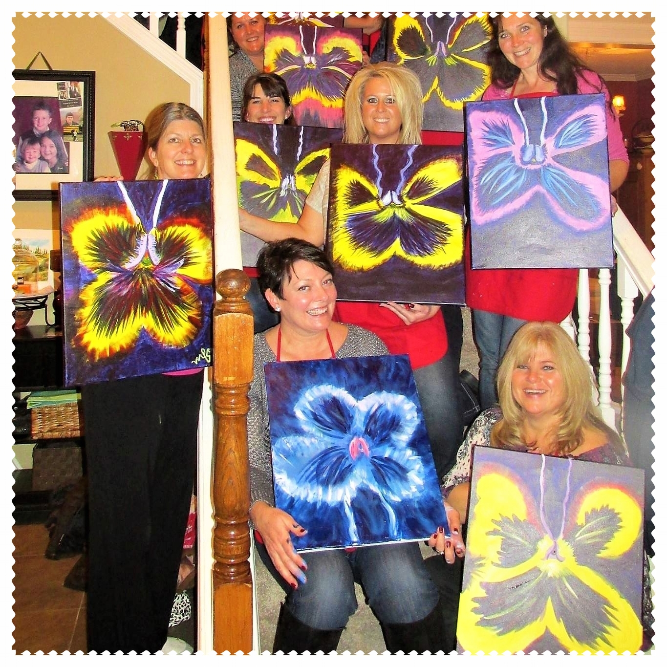 Home Society Painting Party, Portland