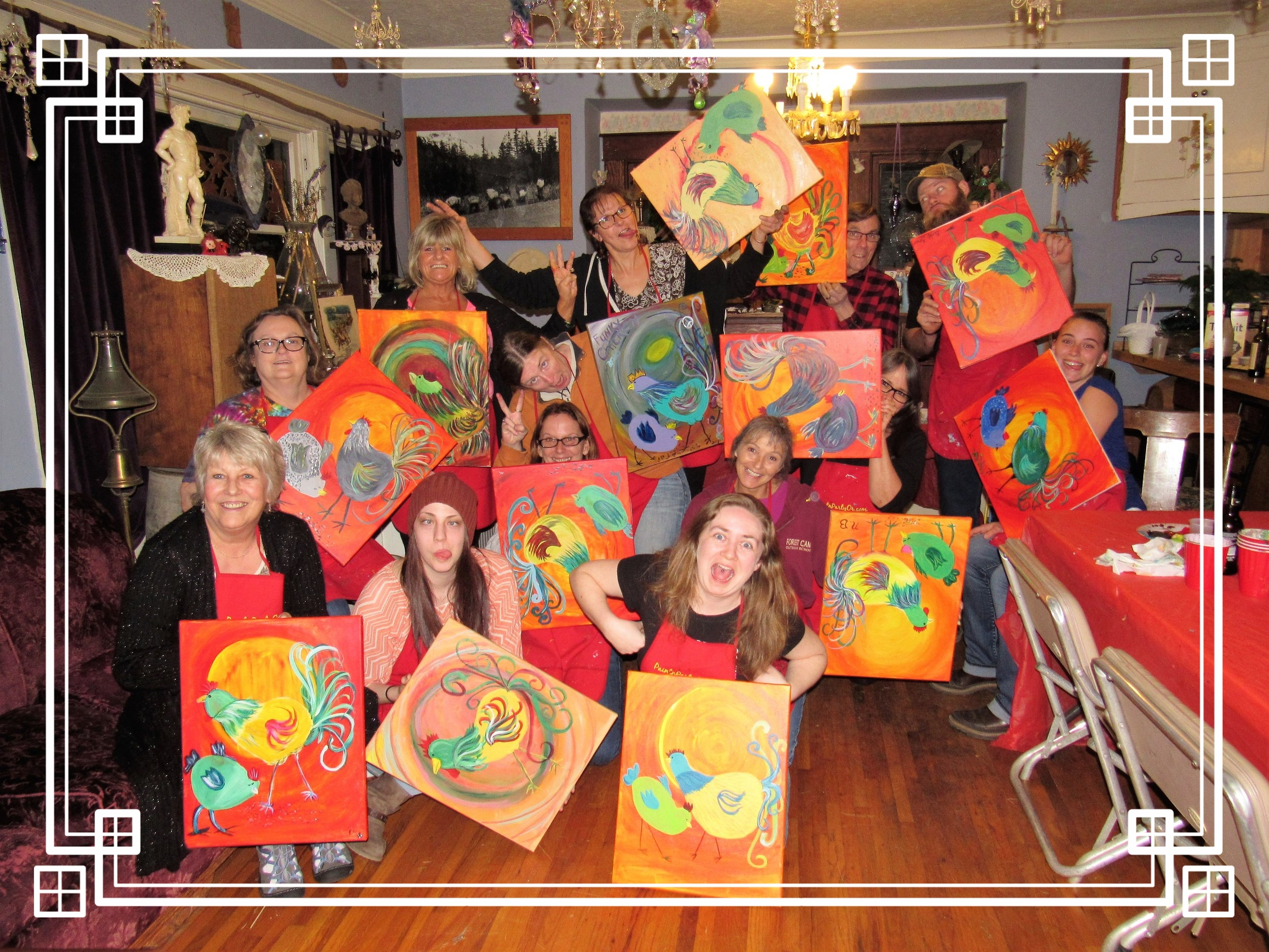 Family & Friends Home PaintnParty, Silverton