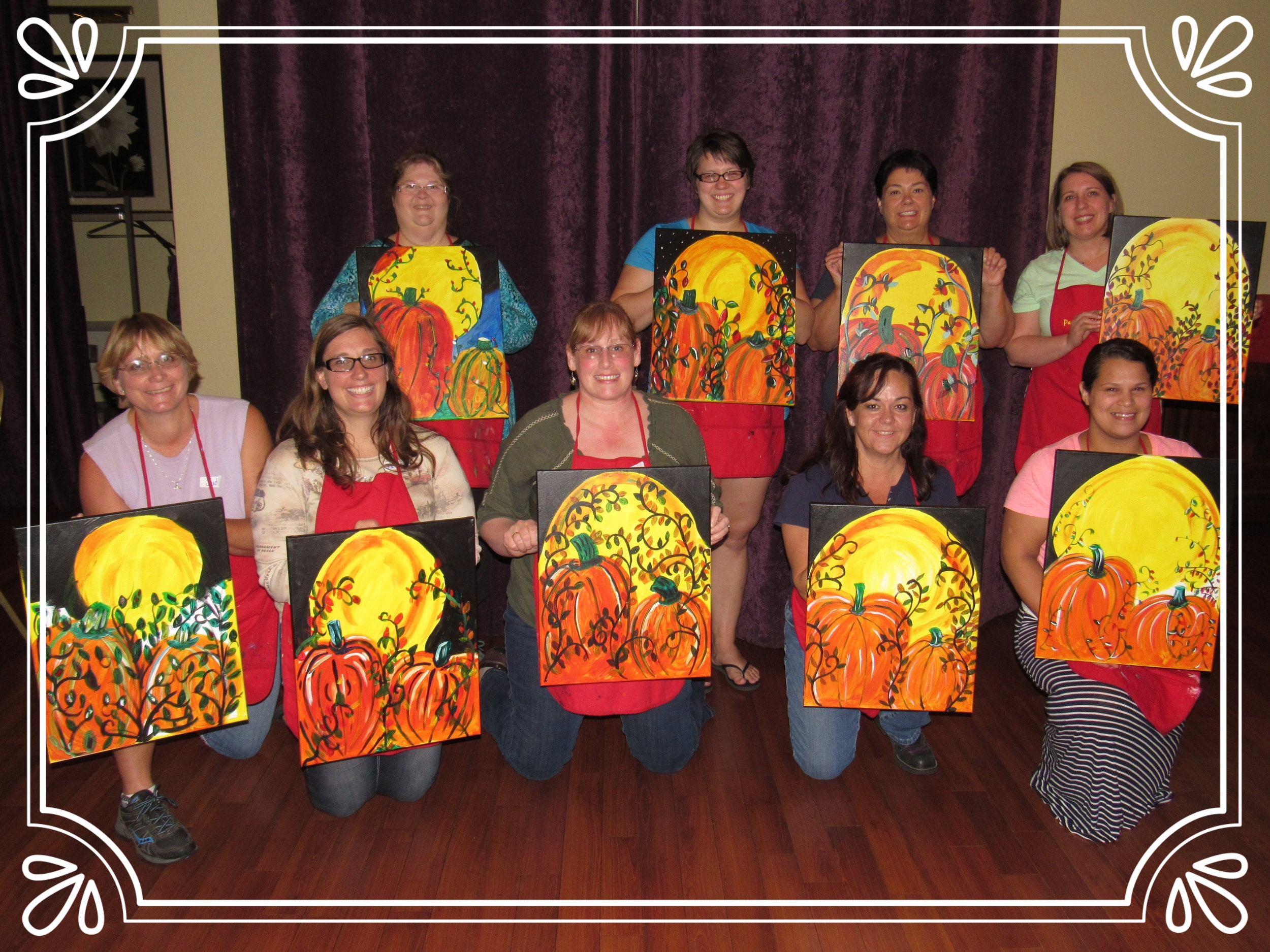 Family Night Painting Party, Willamette Valley Grill, Salem
