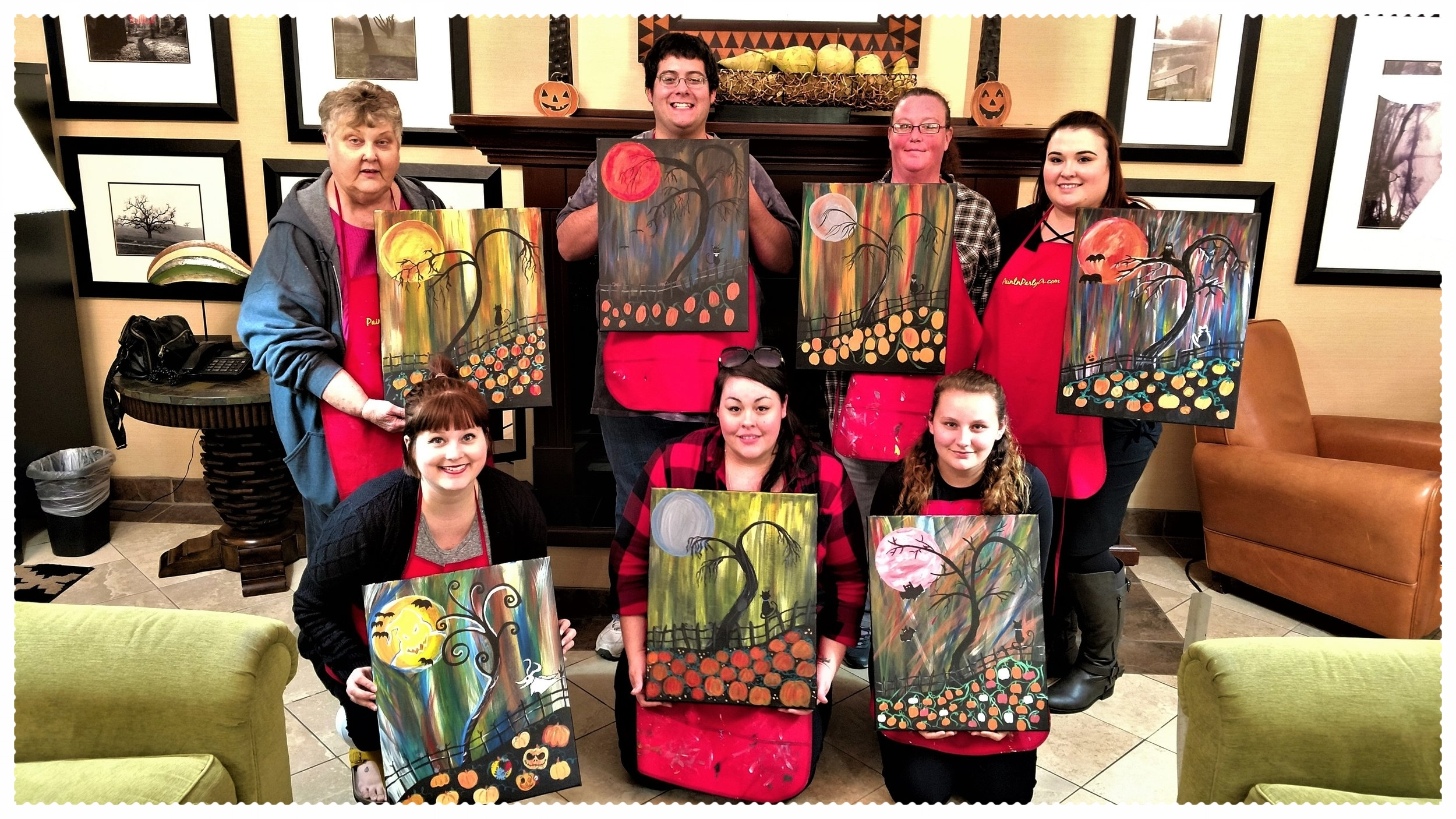 Team Building Painting Party, Phoenix Inn, Albany