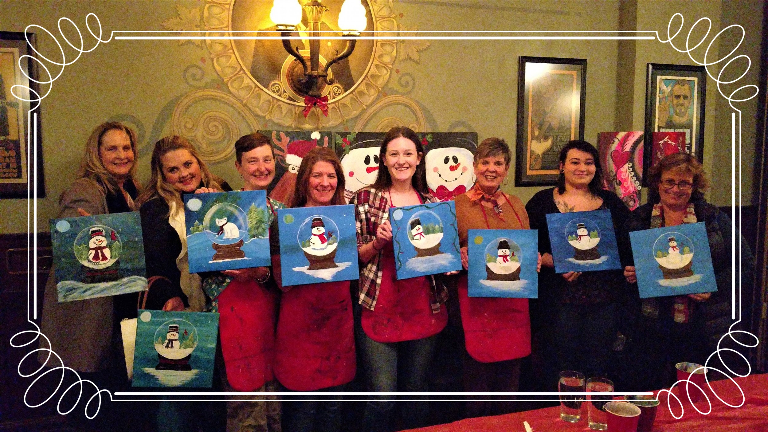 Girls Night Out PaintnParty, McMenamin's, McMinnville