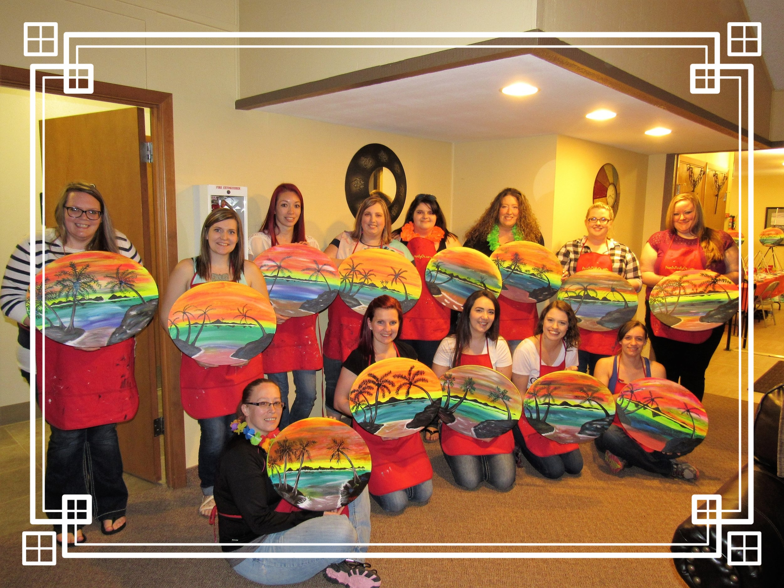 Bridal Shower PaintnParty, McMinnville