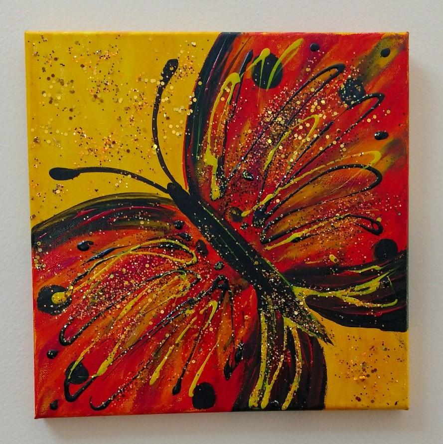 Glitterflies-Monarch $35