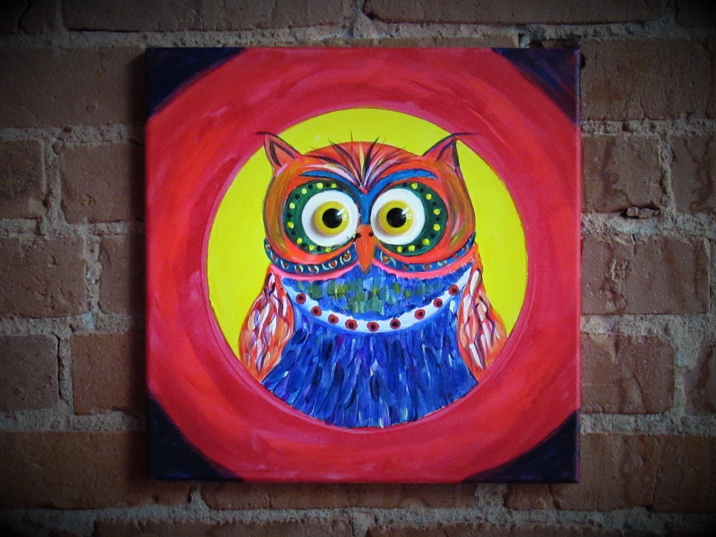 Owl Button Eyes $35
