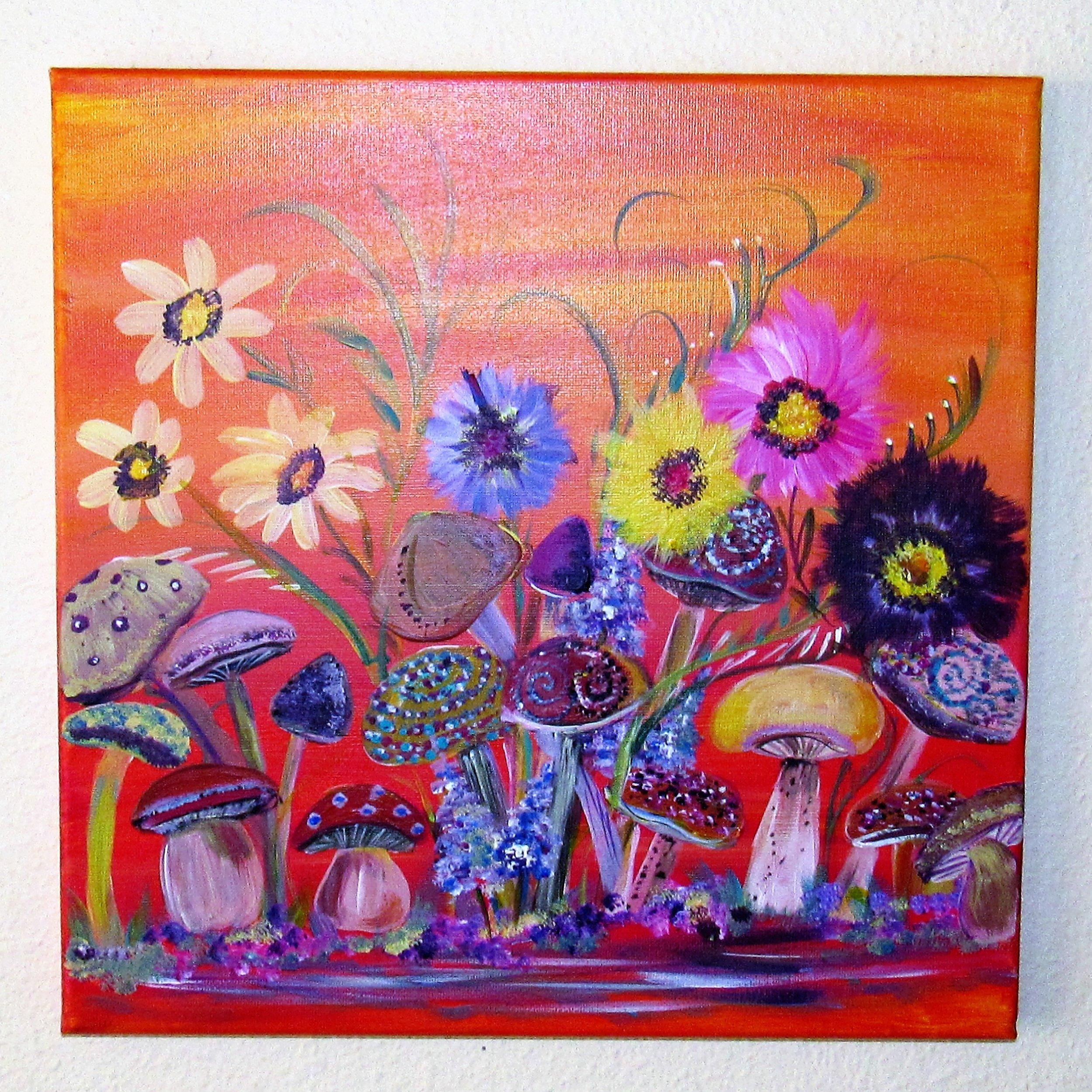 Mushroom Garden $35