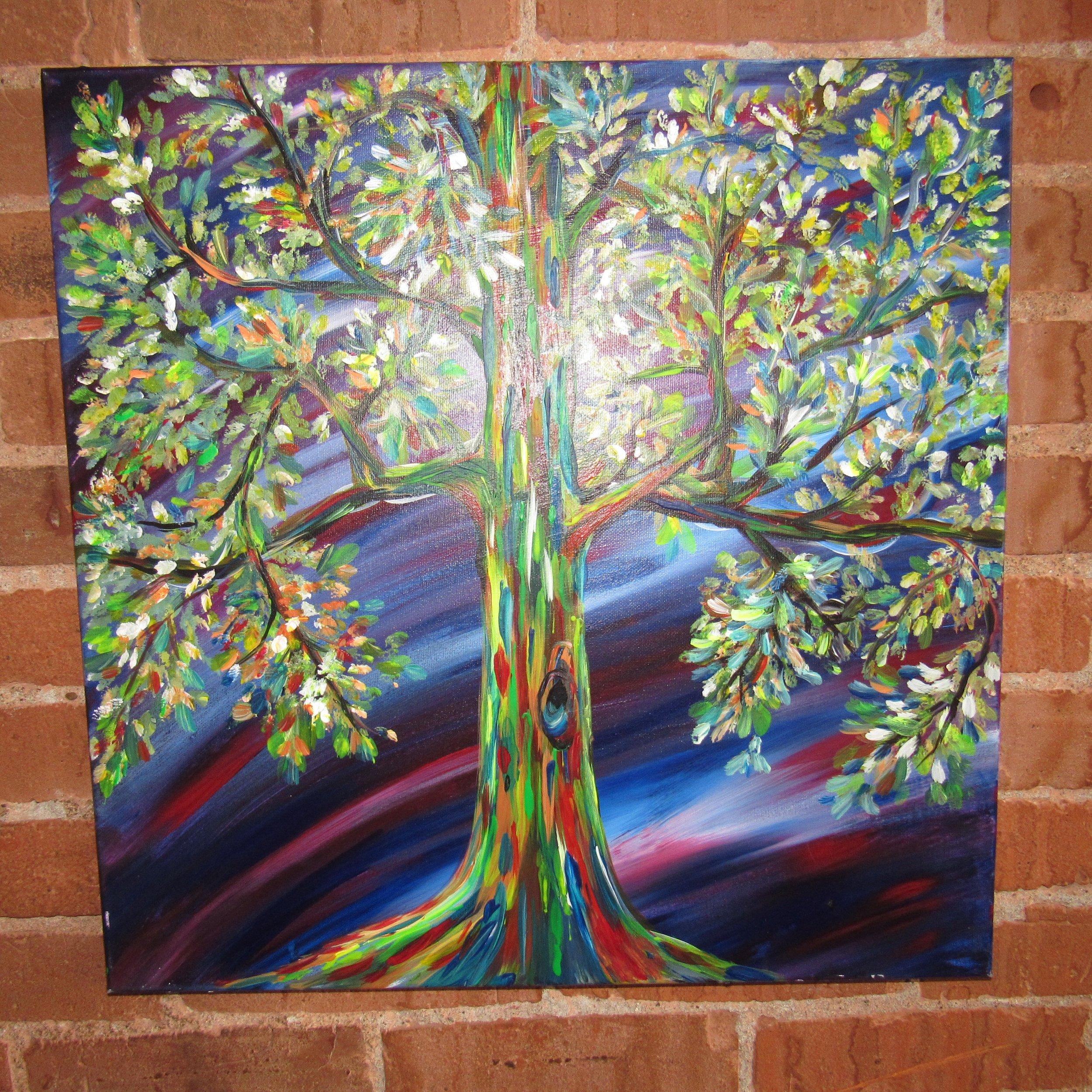 Rainbow Tree $35