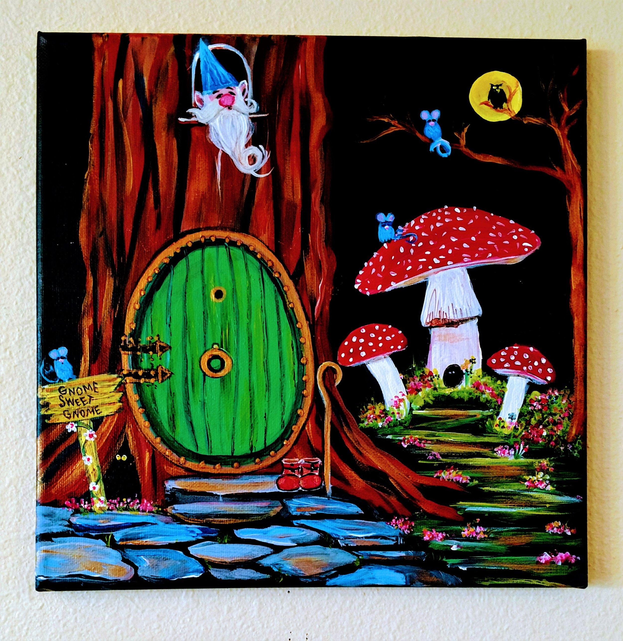 Gnome Sweet Gnome $35