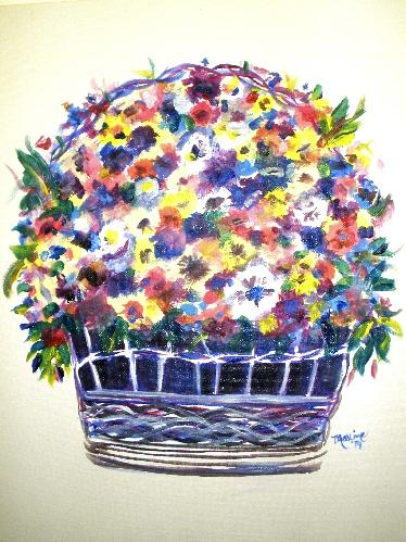 $45 Pansy Basket