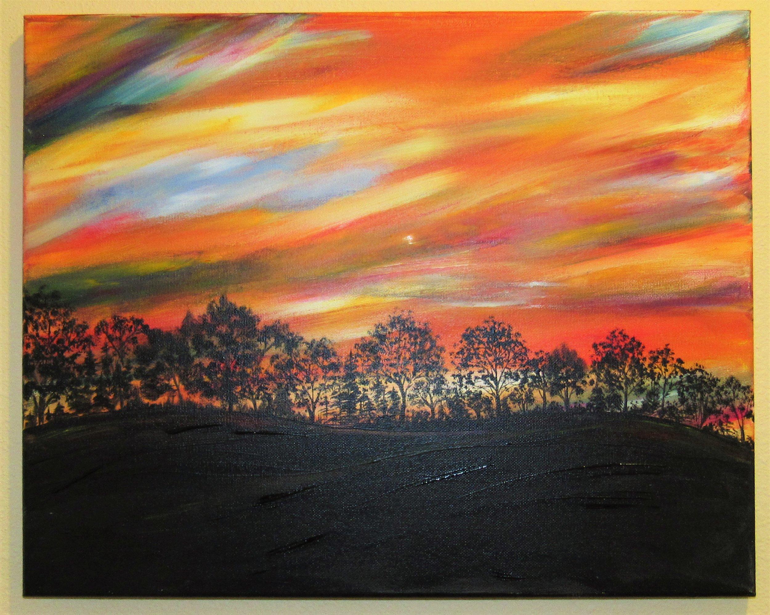 $35 Oregon City Sunset