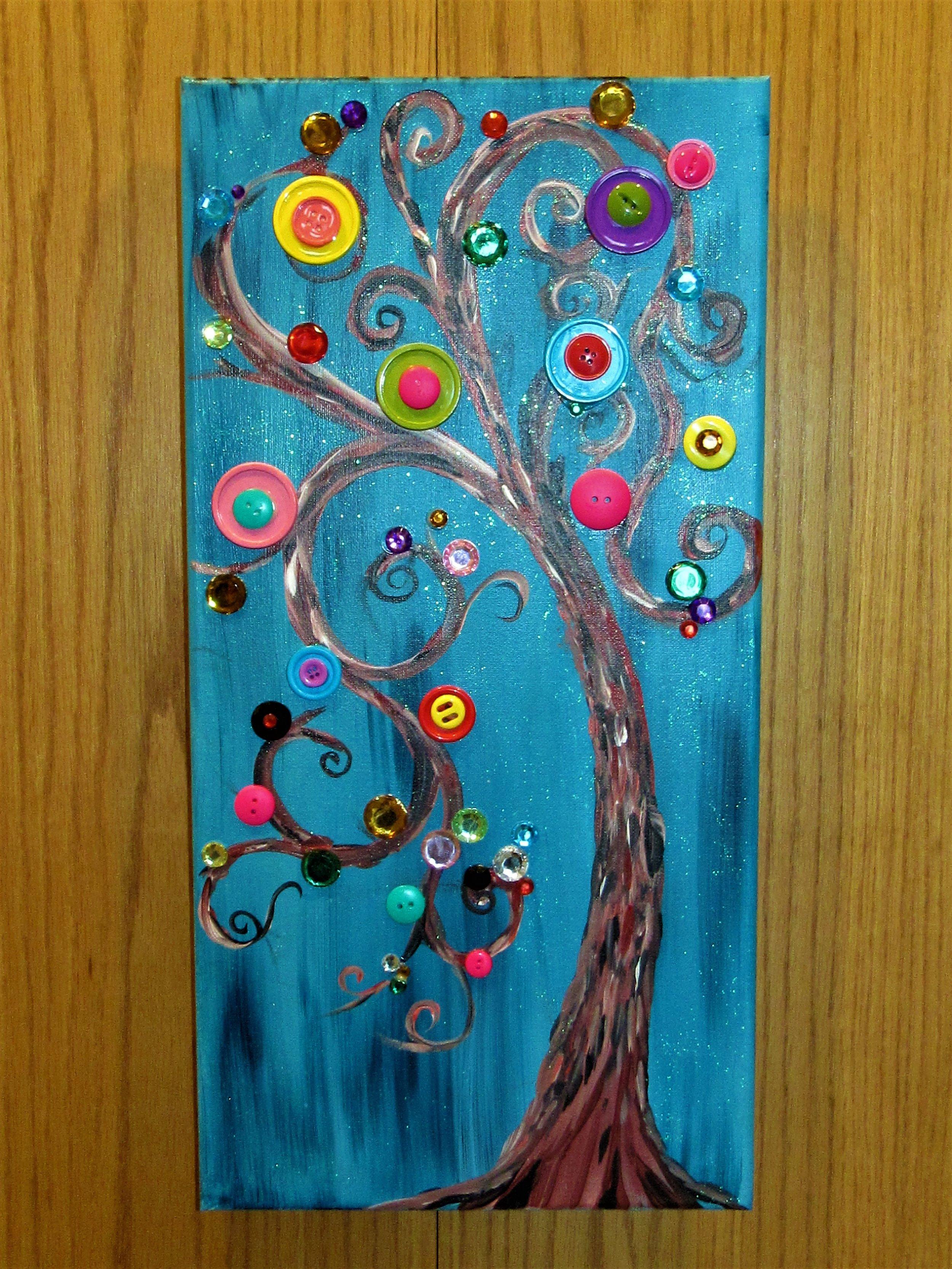 $35 Button Tree