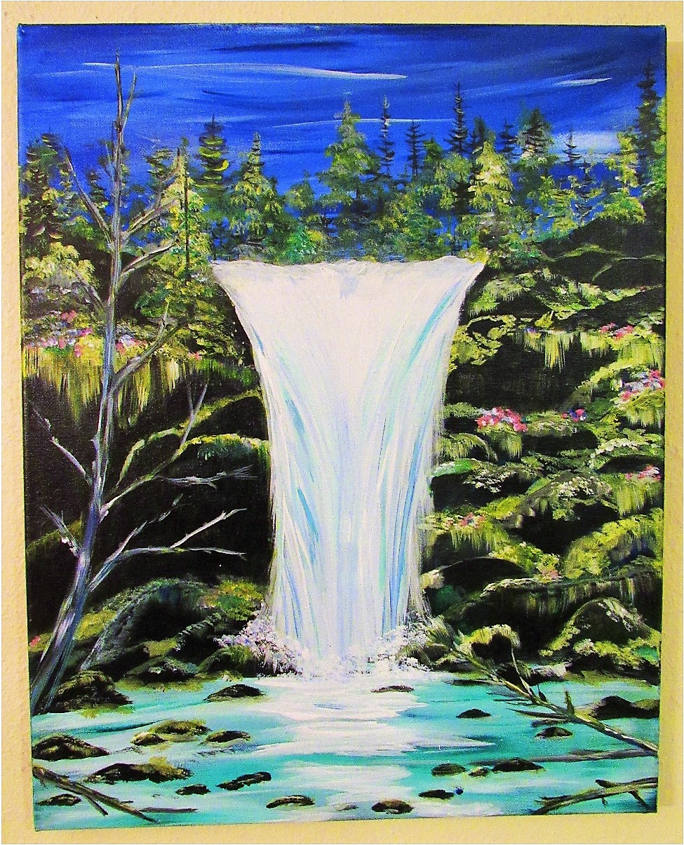$40 Waterfall