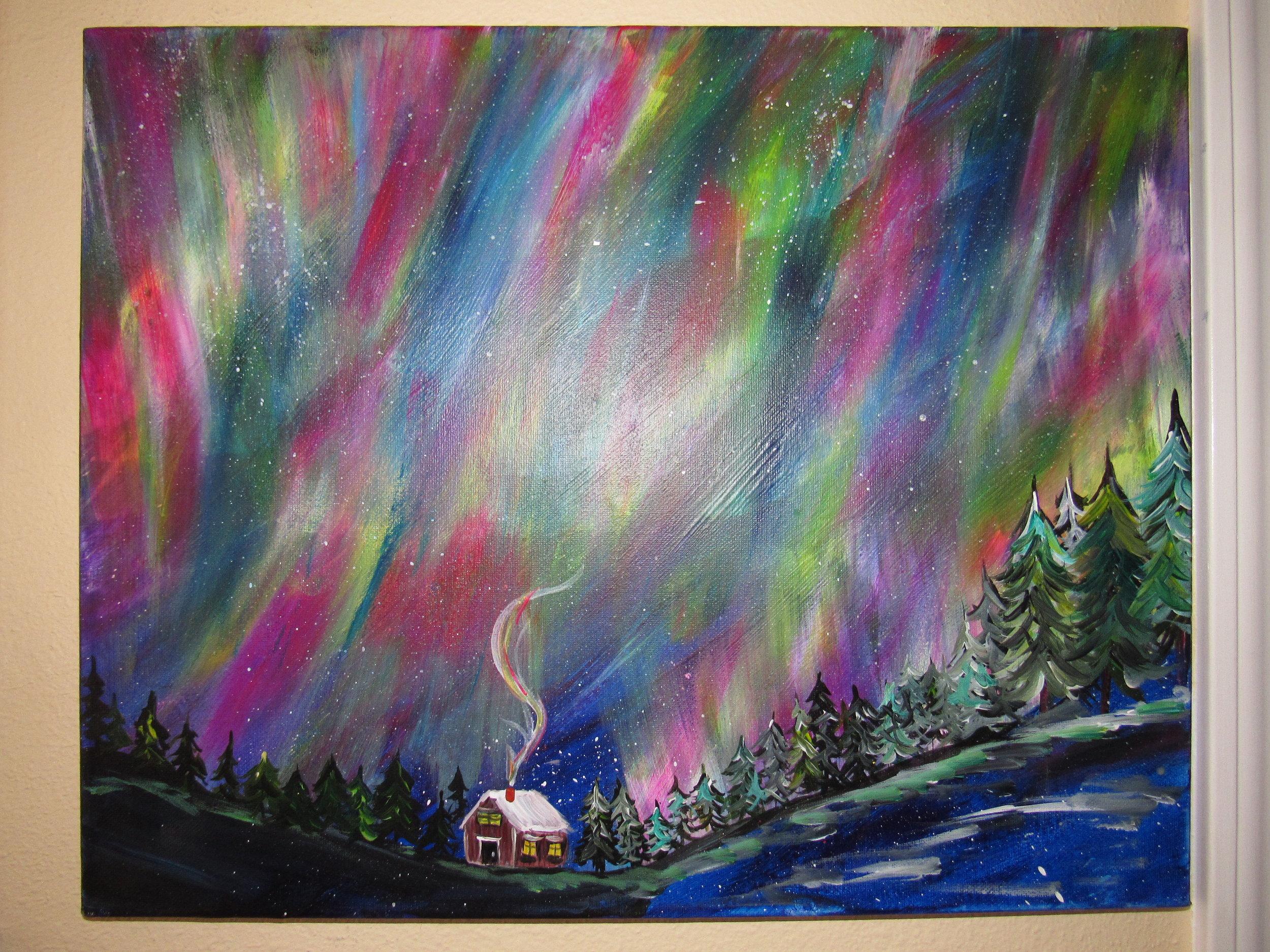 $35 Northern Lights Cabin