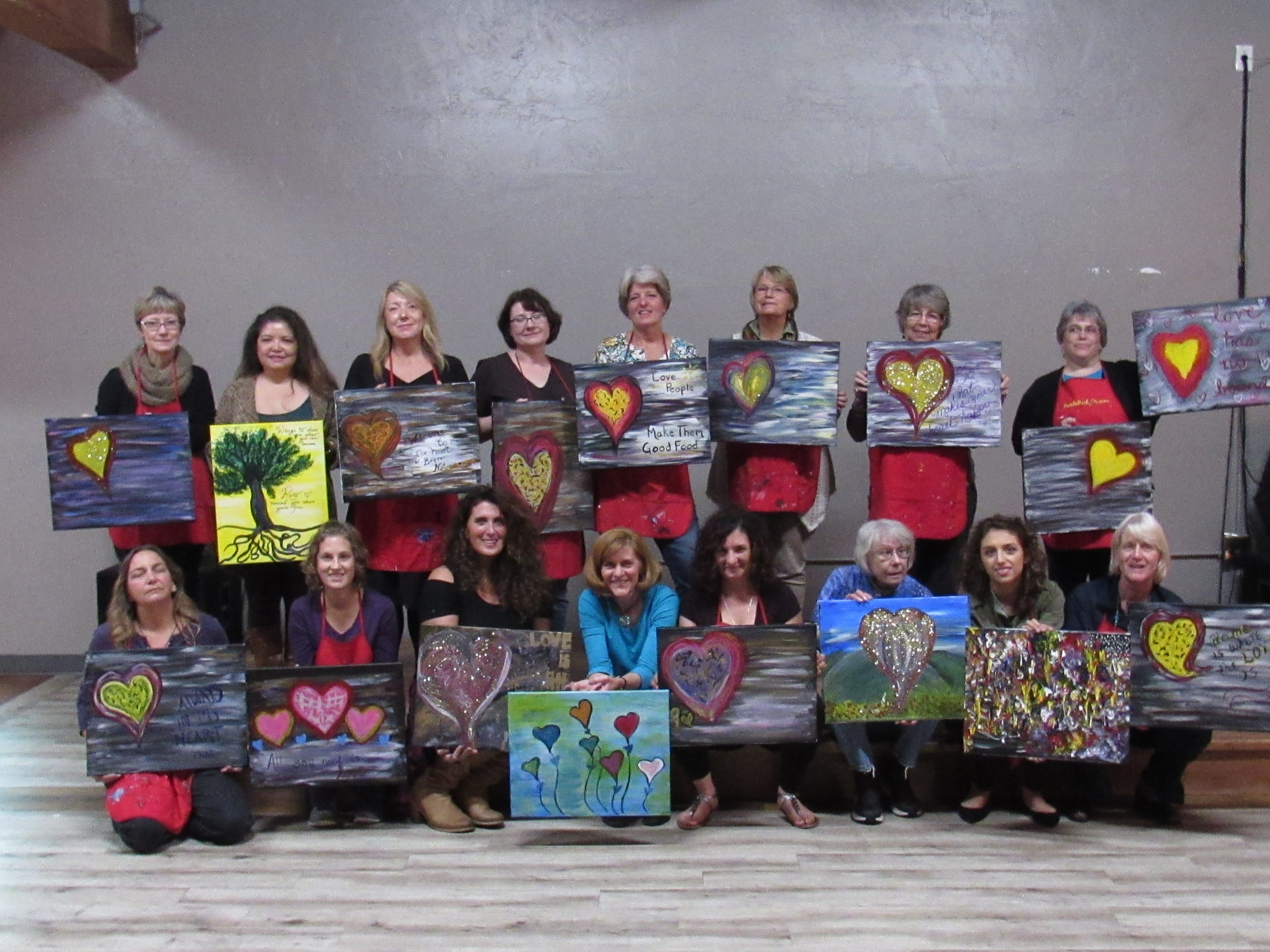 b-day paintnparty...And the Girls Say... -