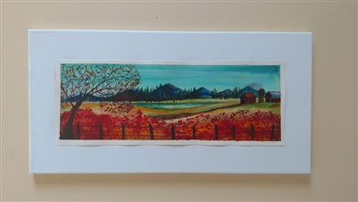 $35 Scarlet Fields 10x20
