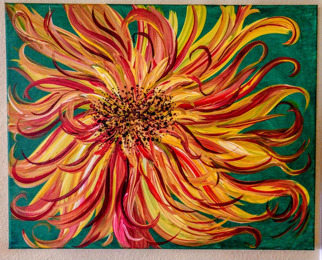 $35 Wild Sun Flower